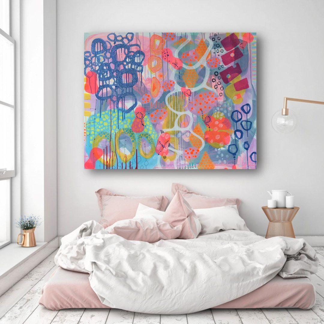 Test et maleri på din væg